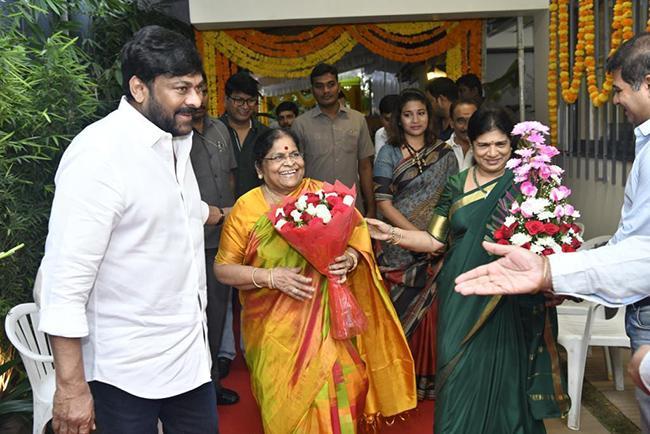 Koratala Siva And Chiranjeevi Movie Launch