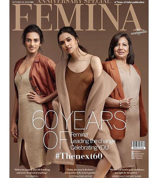 Deepika Padukone Poses for Femina Photos