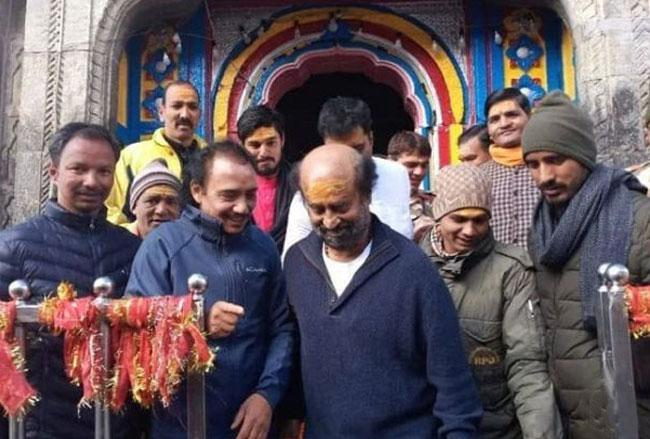 Rajinikanth Visits Kedarnath & Himalayas