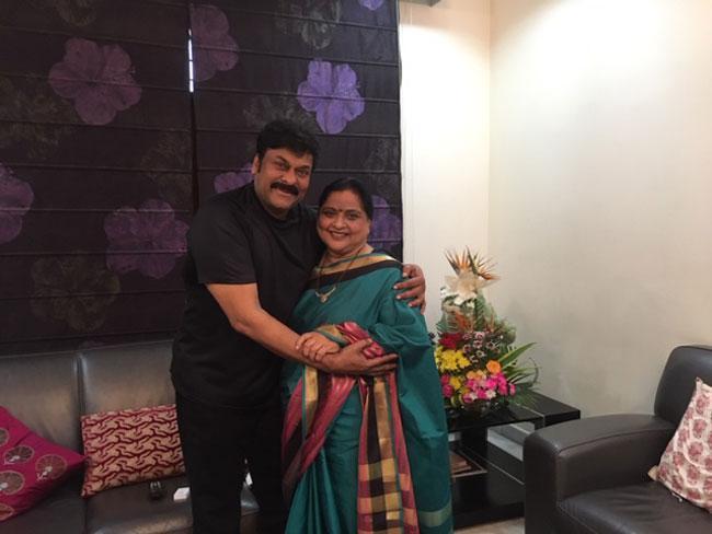 Roja Ramani And Chakrapani Wishes Chiranjeevi