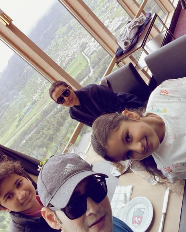 Mahesh babu Vacation With Family Photos