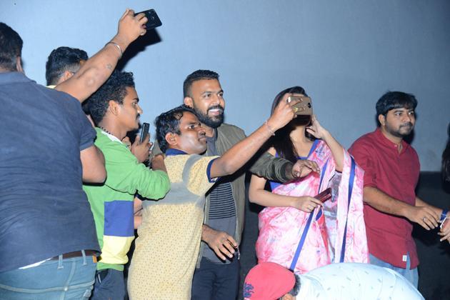 Meeku Matrame Cheptha Theatre Coverage Photos
