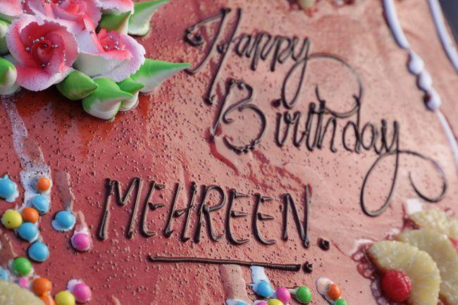 Mehreen Birthday Celebrations
