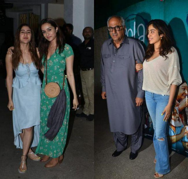 Bollywood Celebrities At Bala Special Screening