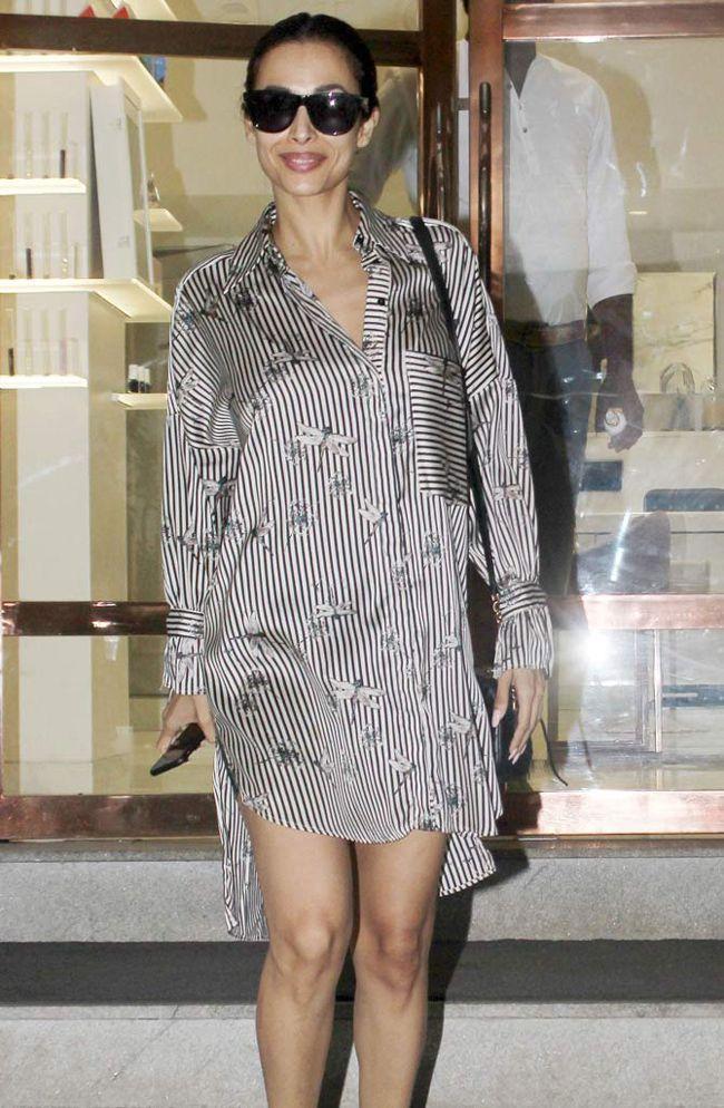 Beautiful Malaika Arora Spotted In Gym Wear