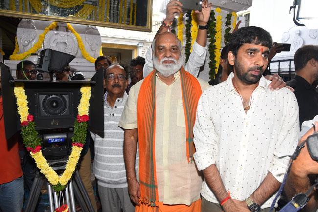 Ravi Teja KRACK Movie Launched Grandly