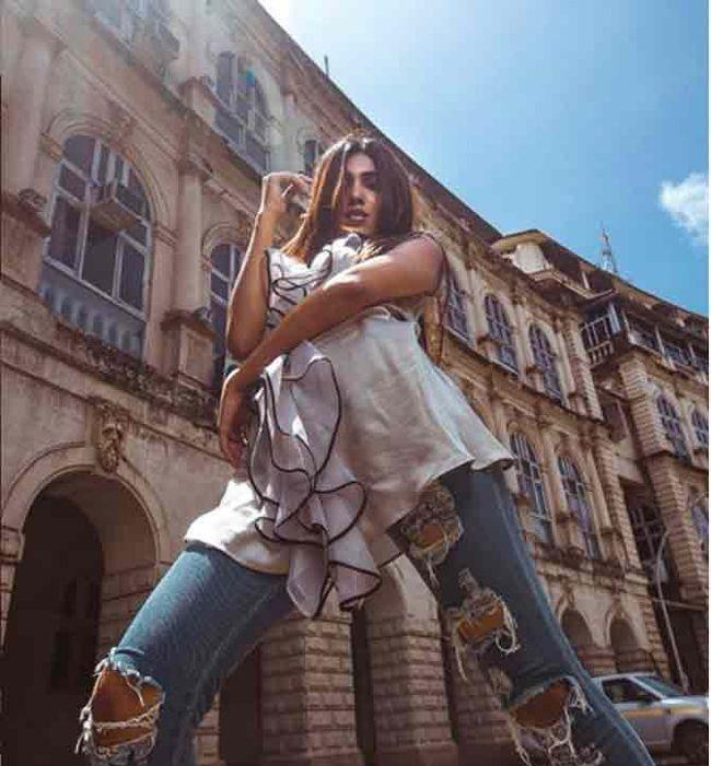 Mumbai model Vaishnavi Andhale In Denim Outfits