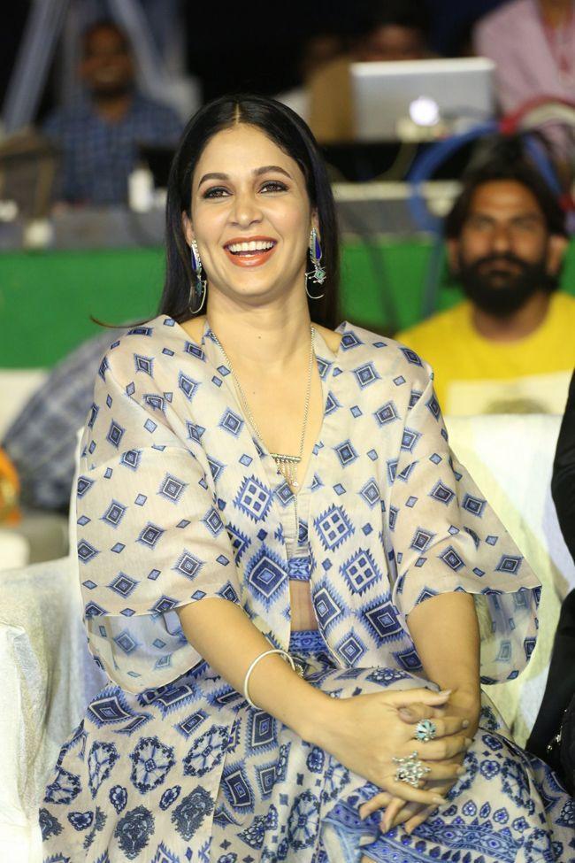 Lavanya Tripathi At Arjun Suravaram Movie Pre Release Event