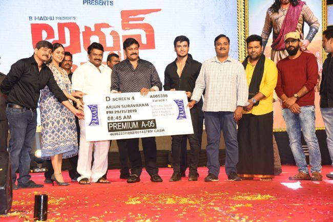 Arjun Suravaram Movie Pre Release Event