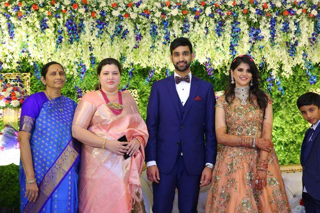 Superstar Krishna Nephew wedding Reception