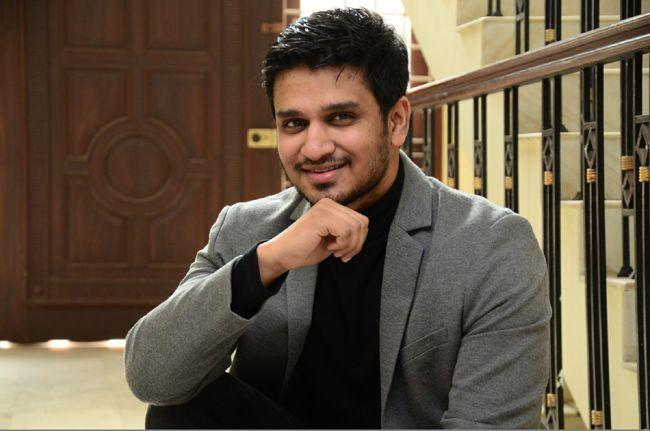 Nikhil Siddharth Interview Photos