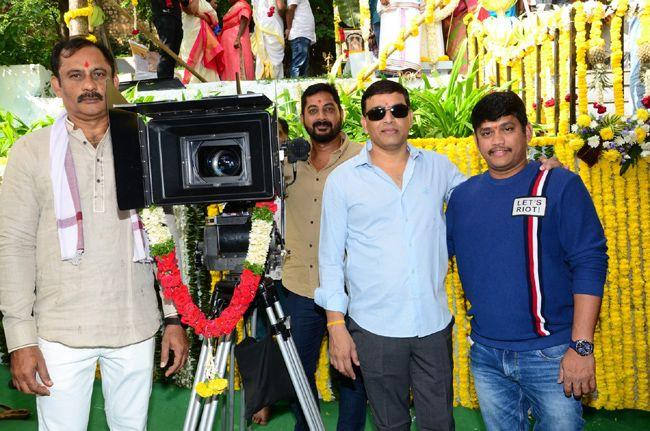 Bellamkonda Srinivas New Film Launched Photos