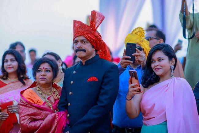 Actor Brahmaji Son Wedding Photos