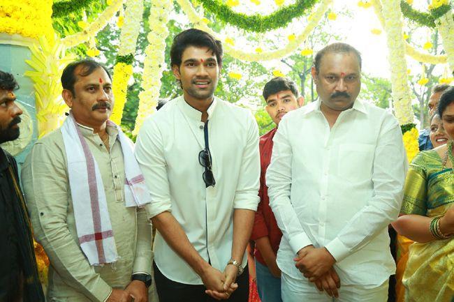 Bellamkonda Sai Sreenivas New Movie Opening
