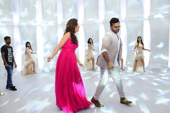 Prathi Roju Pandaaga Movie Song Coverage