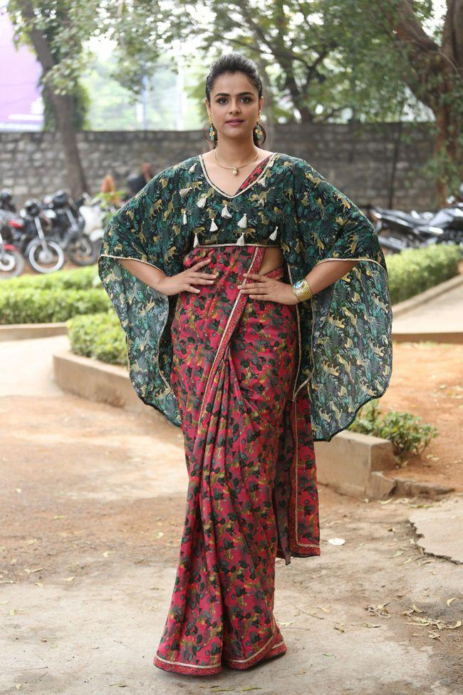 Actress Prachi Tehlan At Mamangam Movie Trailer Launch