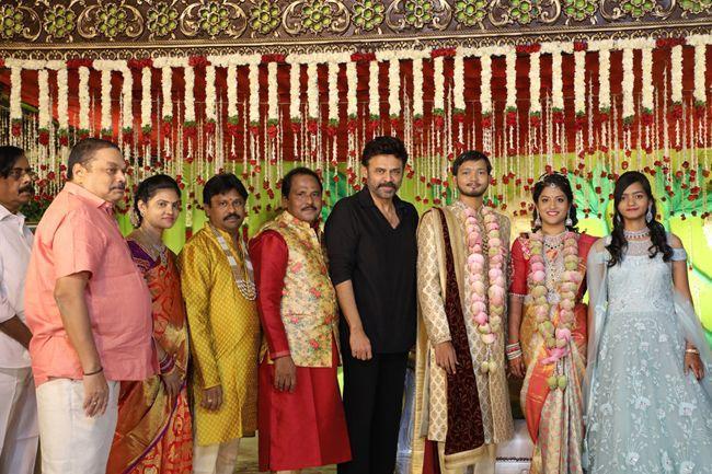Celebs At Journalist Prabhu Daughter Wedding Photos