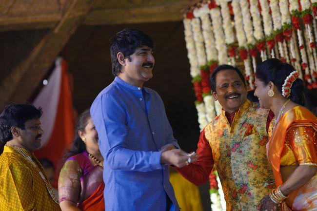 Celebs At Journalist Prabhu Daughter Wedding Photos