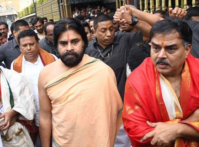 Pavan Kalyan Visited Tirumala