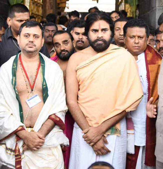 Pavan Kalyan Visited Tirumala