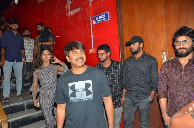 Bhagyanagara Veedhullo Gammathu Team At Sandhya Theater