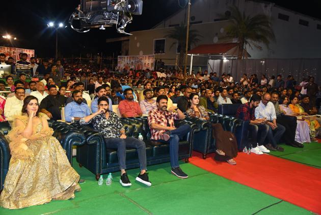 Venky and Chaitanya Venky Mama Pre Release Event Photos