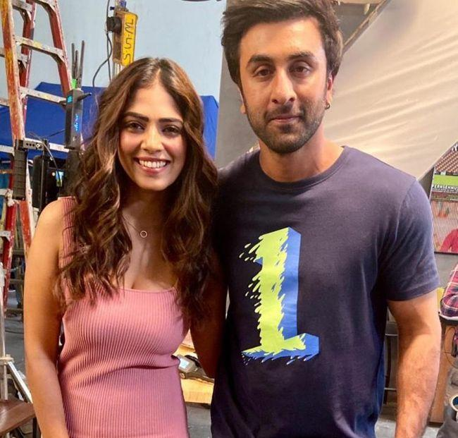 Ranbir Kapoor And Malavika Mohanan Snapped Together For A Shoot