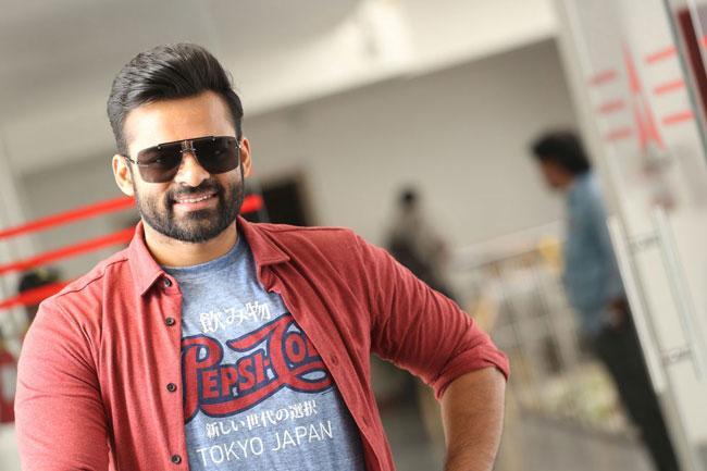 Sai Dharam Tej Interview Pics