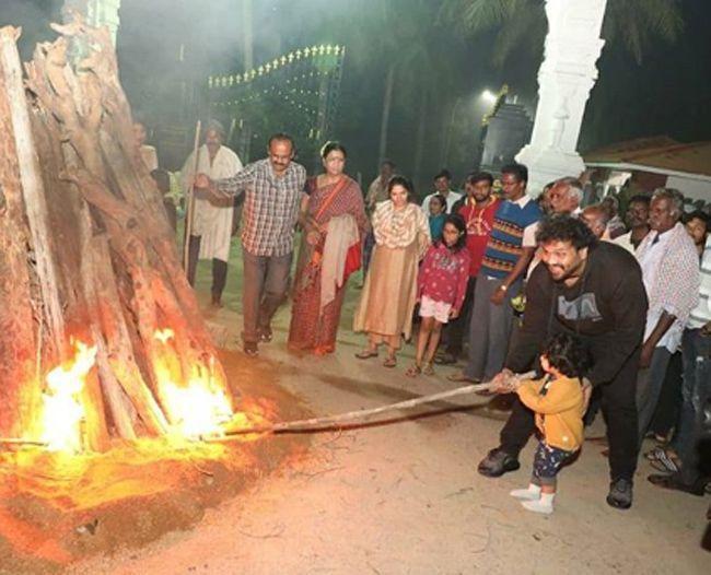 Manchu Family Bhogi Celebrations