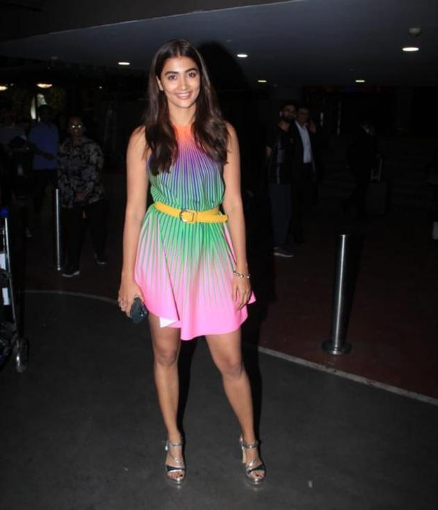 Pooja Hegde in Glamourous Outfit Photos