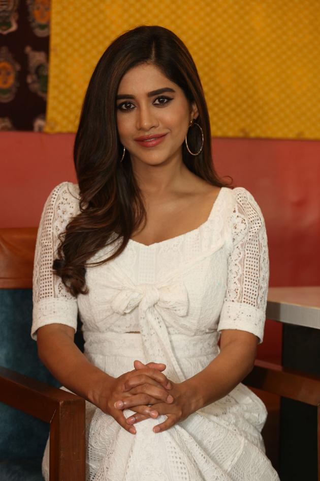 Nabha Natest Interview Photos