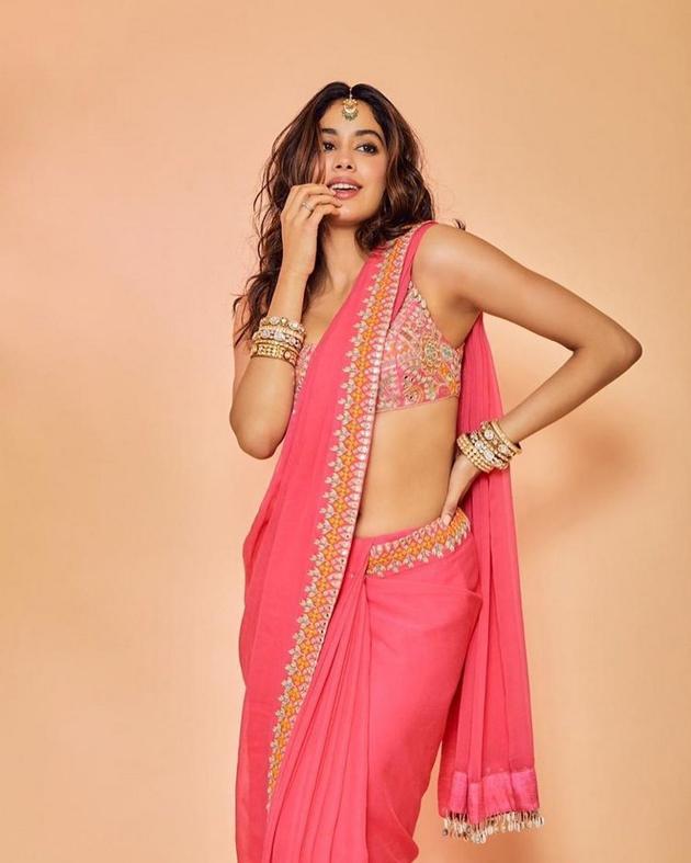 Janhvi Kapoor In Saree Photos