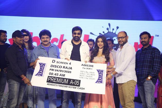 Disco Raja Pre Release Event Photos