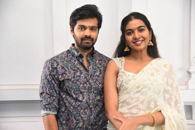Shivathmika At Vidhi Vilasam Movie Opening