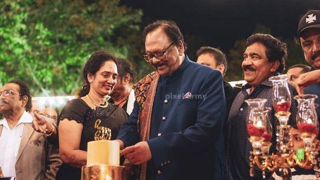 Celebs At Krishnam Raju Birthday Celebrations