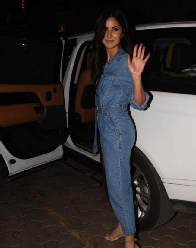 Katrina Kaif Spotted At Screening Of Vicky Kaushal Brother Sunny Kaushal Web Series