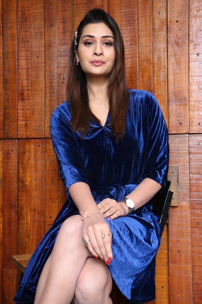 Payal Rajput Interview Clicks