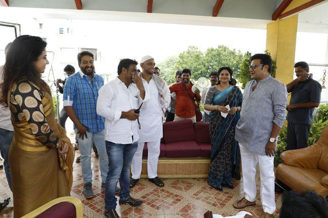 Ananda Bhairavi Working Stills