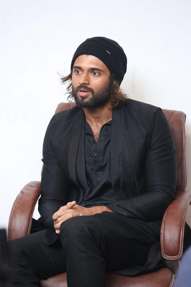 Vijay Devarakonda Interview Clicks