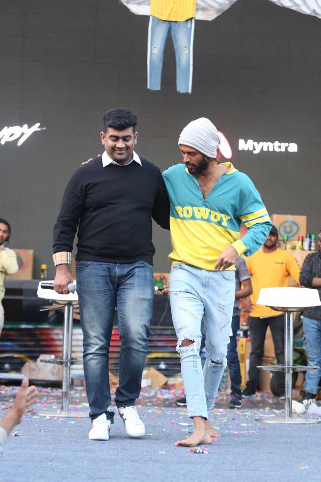 Vijay Deverakonda ROWDY WEAR collaborates with Myntra Photos