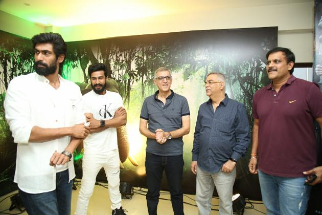 Aranya Movie Teaser Launch Photos