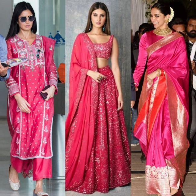 Katrina Kaif Tara Sutaria Deepika Padukone Looking Gorgeous In Pink