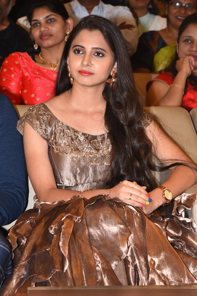 Preethi Asrani at Pressure Cooker Movie Pre Release Event Photos