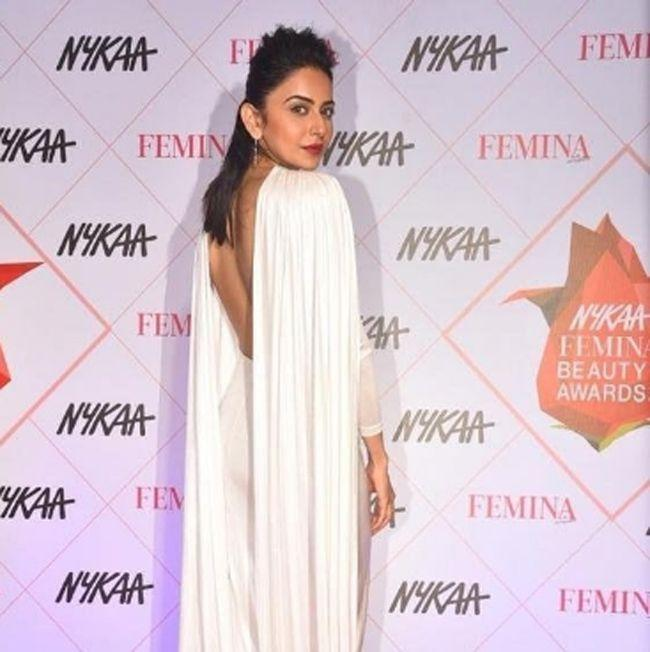 Rakul Preet Singh At Beauty Awards
