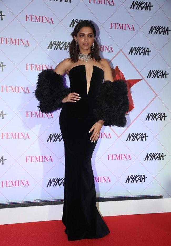 Deepika Padukone At Beauty Awards