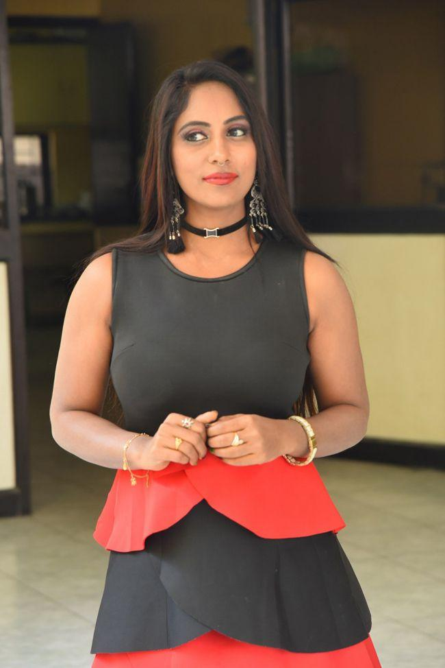 Meghana Chowdary At Hellow Medam Movie Press Meet