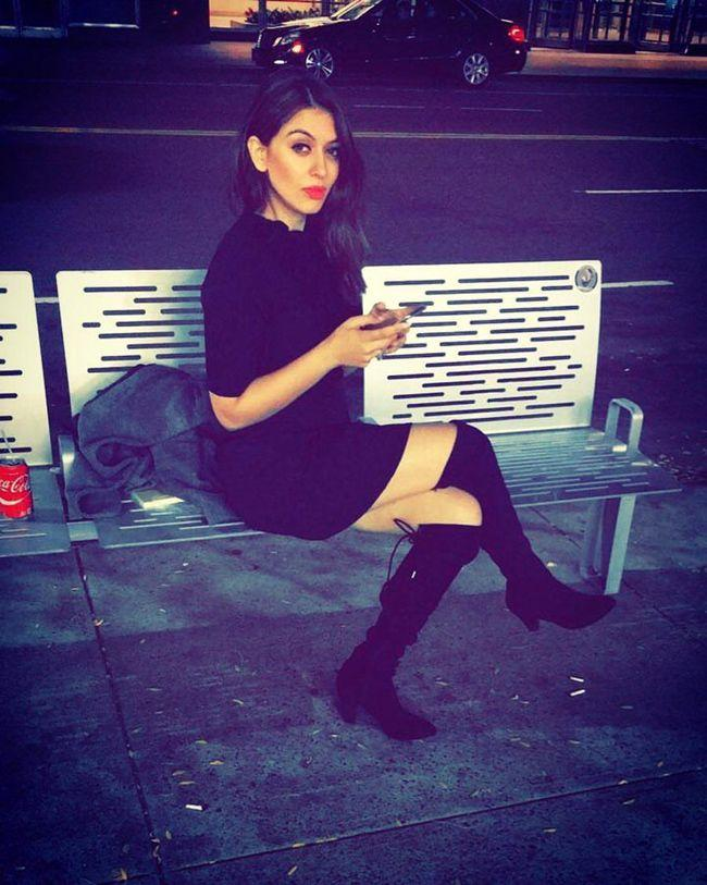 Hansika Motwani Looking Gorgeous In Black Outfit