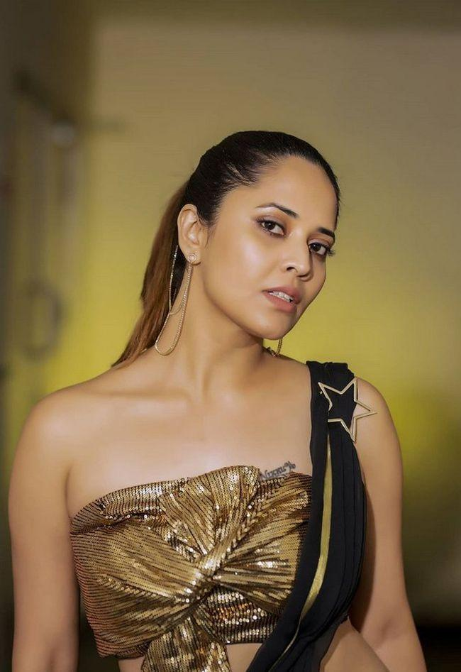 Anchor Anasuya Bharadwaj Photoshoot Pictures