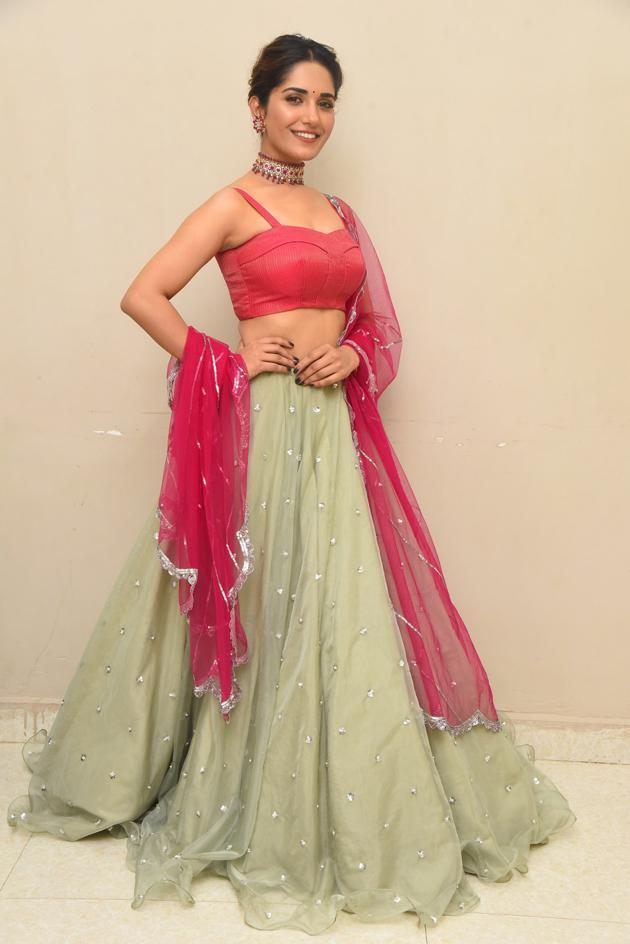 Ruhani Sharma At Hit Pre Release Event At Vizag Photos