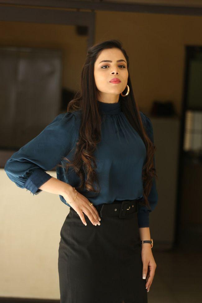 Kriti Garg Interview Pictures